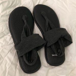 Brand new, never worn, Sanuk sandals